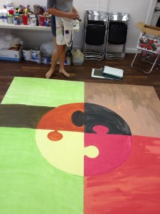 MURAL CAMP DAY 2