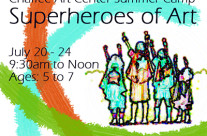 Superheroes of Art Camp