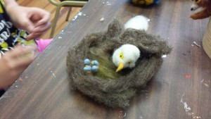 eagel and eggs