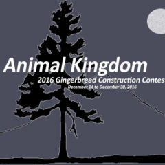 ANIMAL KINGDOM: 2016 Gingerbread Construction Contest