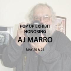 Pop Up Exhibit: AJ Marro