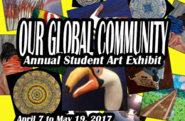 Our Global Community: Annual Student Art Exhibit
