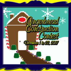 Frosted Frames: 2017 Gingerbread Construction Contest