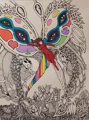 butterfly underdevelopment