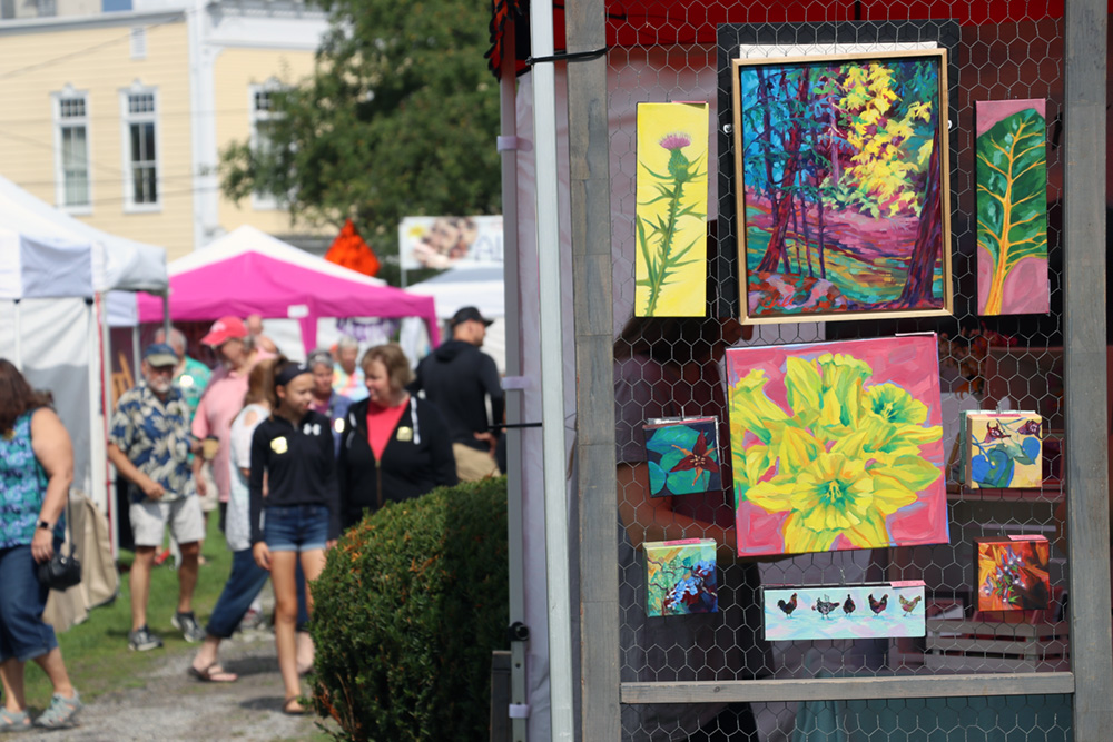 Chaffee Art Center presents 58th Annual Art in the Park Fall Foliage Festival