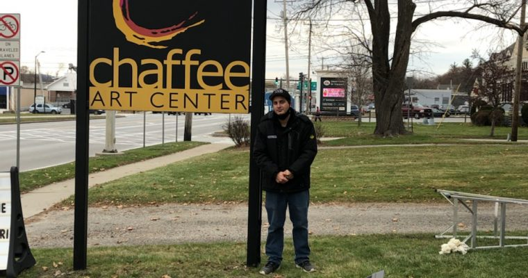 Chaffee Art Center Signs Feature Colorful, New Addition