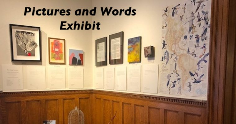 Pictures and Words Exhibit