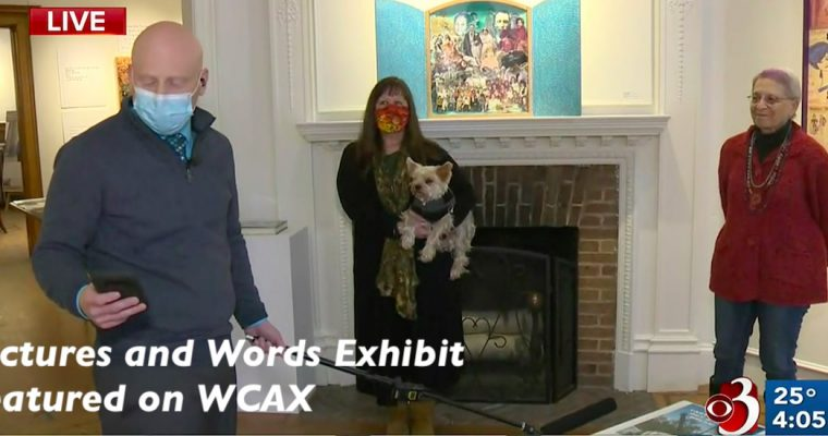 Pictures and Words featured on WCAX