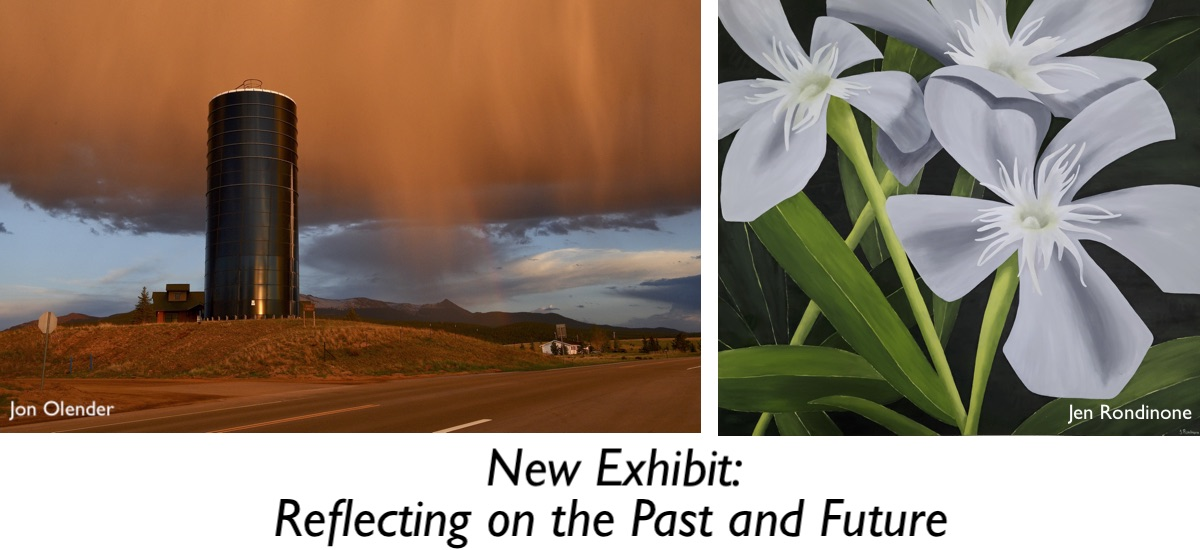 New Exhibit, Reflecting on the Past and Future