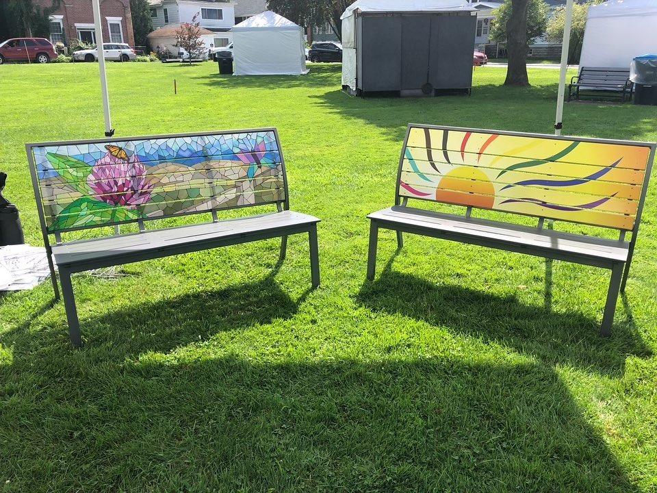Rutland BenchART! Community Street Art Project